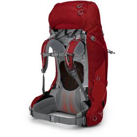 Osprey Ariel Plus 70 Backpack Women, carnelian red